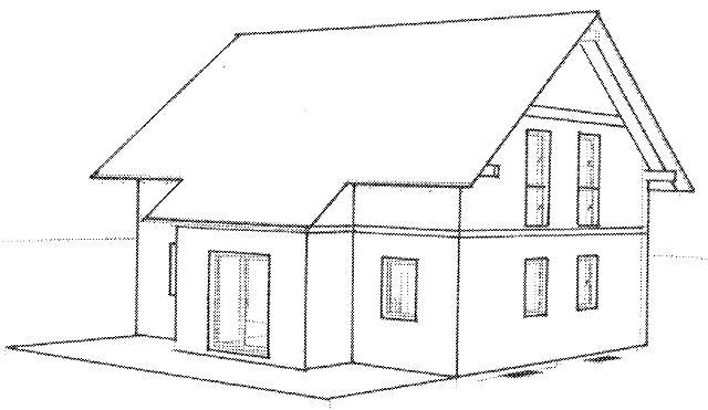 Haus zeichnung  Haus