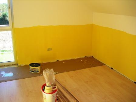 Erfreut Kinderzimmer Streichen Gelb Galerie - Die besten ...